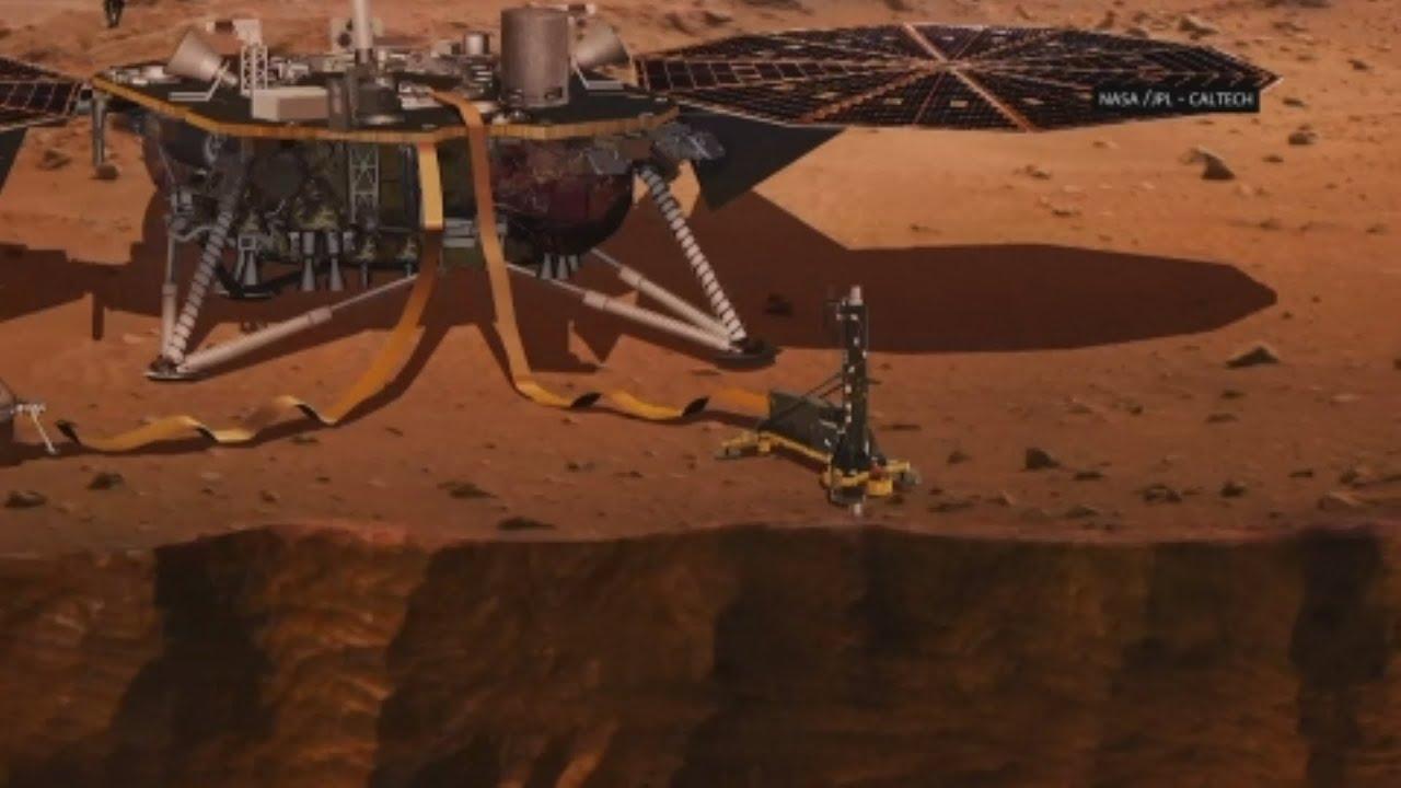 NASA to Dig Deep into Mars