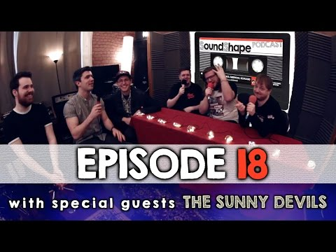 SoundShape Podcast - Episode 18 (The Sunny Devils chat and session! Yaldy!)