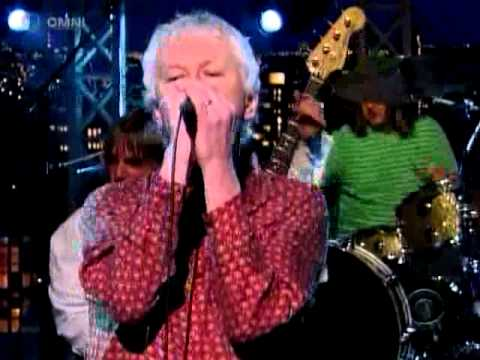 Guided by Voices on Letterman perform