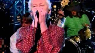"Guided by Voices on Letterman perform ""The Unsinkable Fats Domino"""