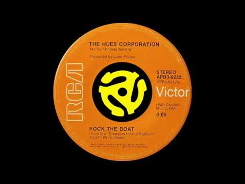 Hues Corporation Rock The Boat Rcavictor Records 1974 Youtube