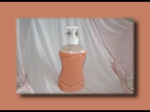 Как сделать жидкое мыло своими руками. Экономим! Мастер класс.