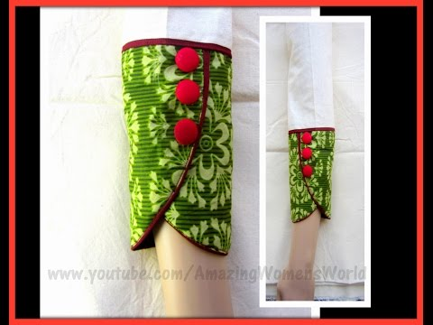 Full Length PETAL | TULIP Sleeve for Kurti | Kameez | Dress| DIY || AWW#279