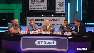 Billy Joe Saunders vs. Willie Monroe Jr: Press conference best bits