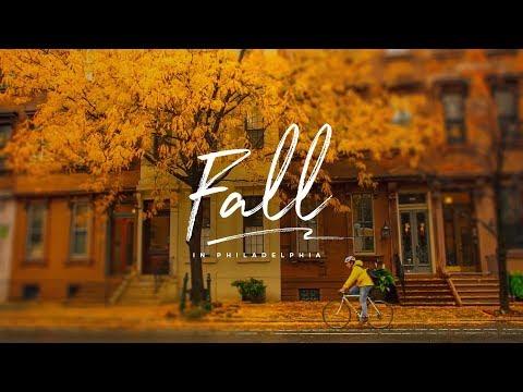 Fall in Philadelphia (4k)
