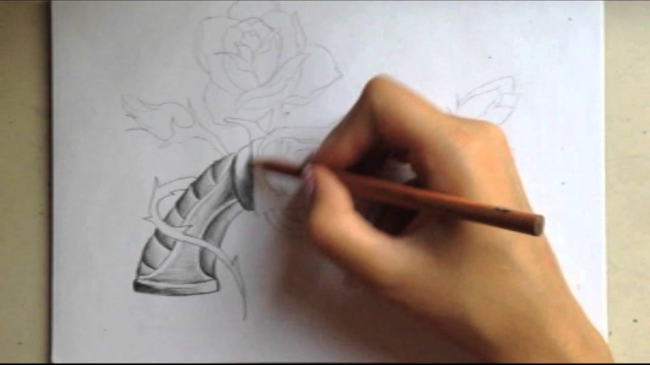 Guns N Roses Drawing Youtube
