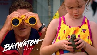 PANIC!! Grenades On The Beach! Mitch Needs To ACT FAST!  Baywatch Remaster