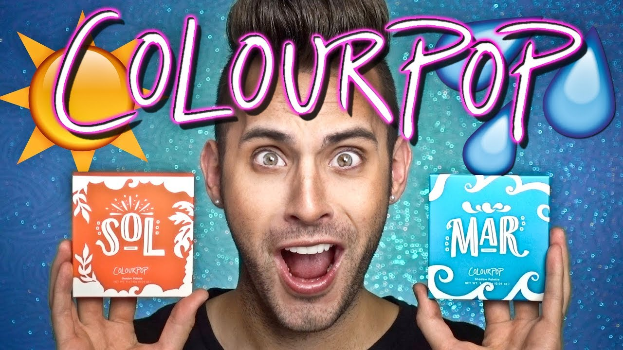 Ana Torroja Naked no bullsh*t colourpop mar + sol palettes review!
