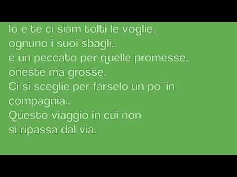 Ligabue-l'amore conta (lyrics)