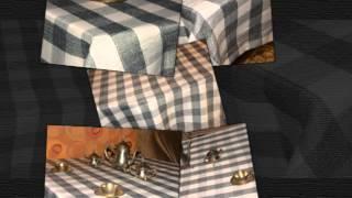 Купить скатерть в СПб Серая клетка(, 2015-08-18T11:39:15.000Z)
