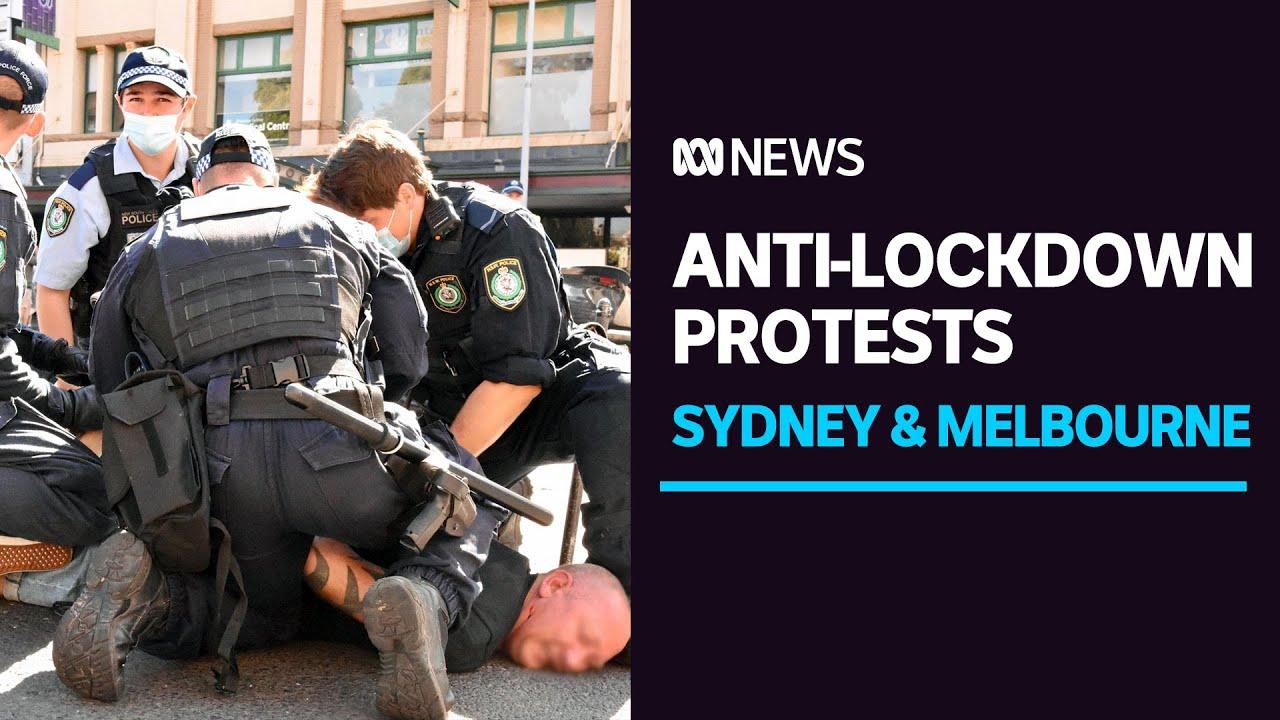 #FreeAustralia  -  Australia's Political Tyrants Unleash Police on Peaceful Protesters