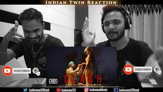 Indian Twin Reaction   Diljit Dosanjh: CLASH   G.O.A.T.
