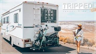 ROUTE 66 RV TRIP: Albuquerque to Flagstaff (TRIPPED RV S2 E6)