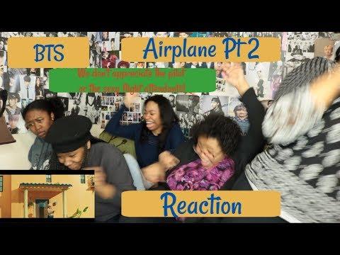 BTS AIRPLANE PT2 REACTION