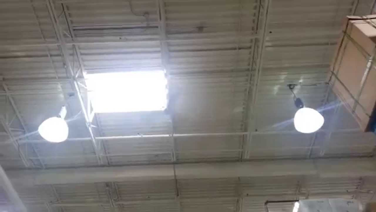 ... Canarm & Banvil/Envirofan Gold Line industrial ceiling fans - YouTube