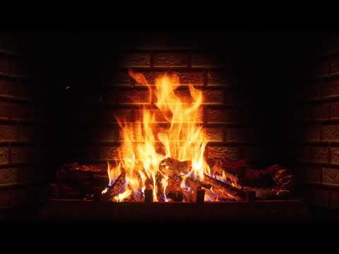 Огонь, камин и Рождественская музыка 4K Ultra HD