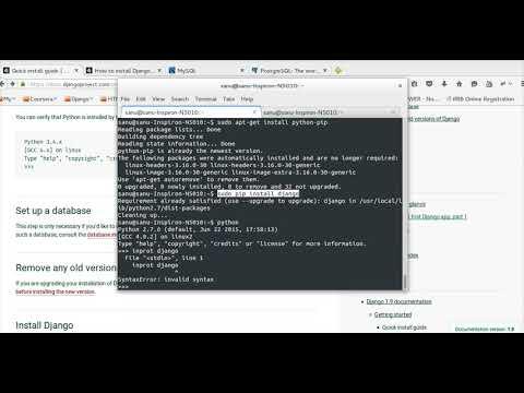 How to Install Python Django on Ubuntu
