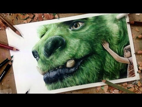 Pete's Dragon : Drawing Pete & Elliot