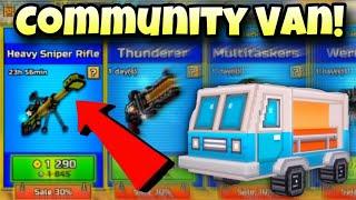 Community Traders Van! | Pixel Gun 3D
