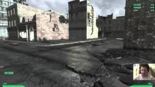 Мили Хард Fallout 3 под МОДами (#5): Грейдич. Найти еду и лекарство в магазине.