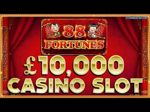 88 Fortunes £10K Jackpot Casino Slot in London ! - 동영상