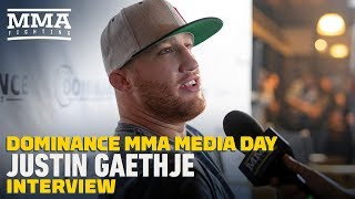Justin Gaethje Cares More About Fighting Khabib Nurmagomedov Than Title - MMA Fighting