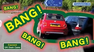 uk dash cams poor drivers road rage crash compilation 19