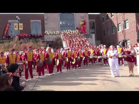 Iowa State University Marching Band - Fight Song (Nov. 26, 2016)