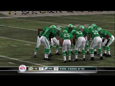 Madden 11 Moments Live: Week 1 Eagles vs. Packers