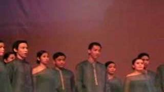 """UST College of Science Glee Club - """"The Battle of Jericho"""""""