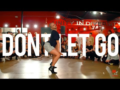 "YANIS MARSHALL HEELS CHOREOGRAPHY ""DON'T LET GO"" EN VOGUE. LOS ANGELES MDC"