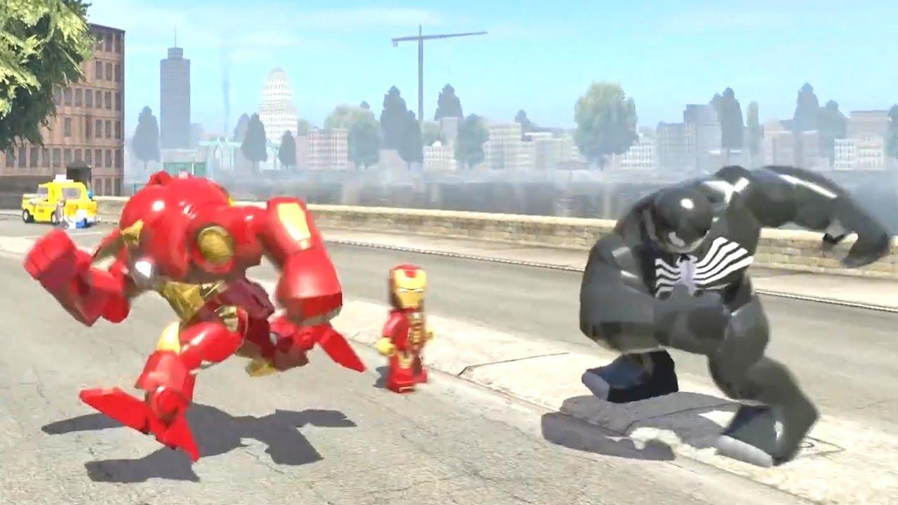 iron man vs venom