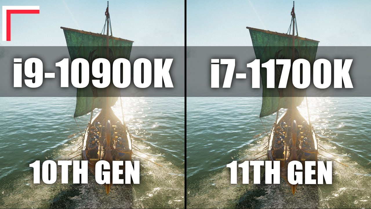 Intel Core i9-10900K vs Intel Core i7-11700K — Test in 10 Games! [1080p, 1440p]