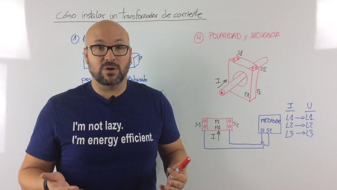 Cómo instalar un transformador de corriente