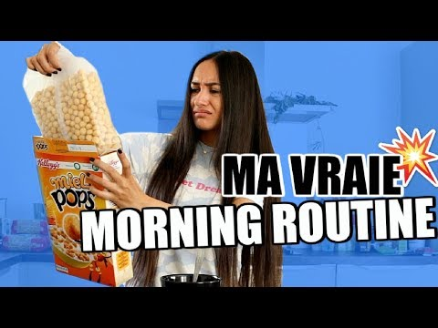 MA 'VRAIE' MORNING ROUTINE | Maile Akln