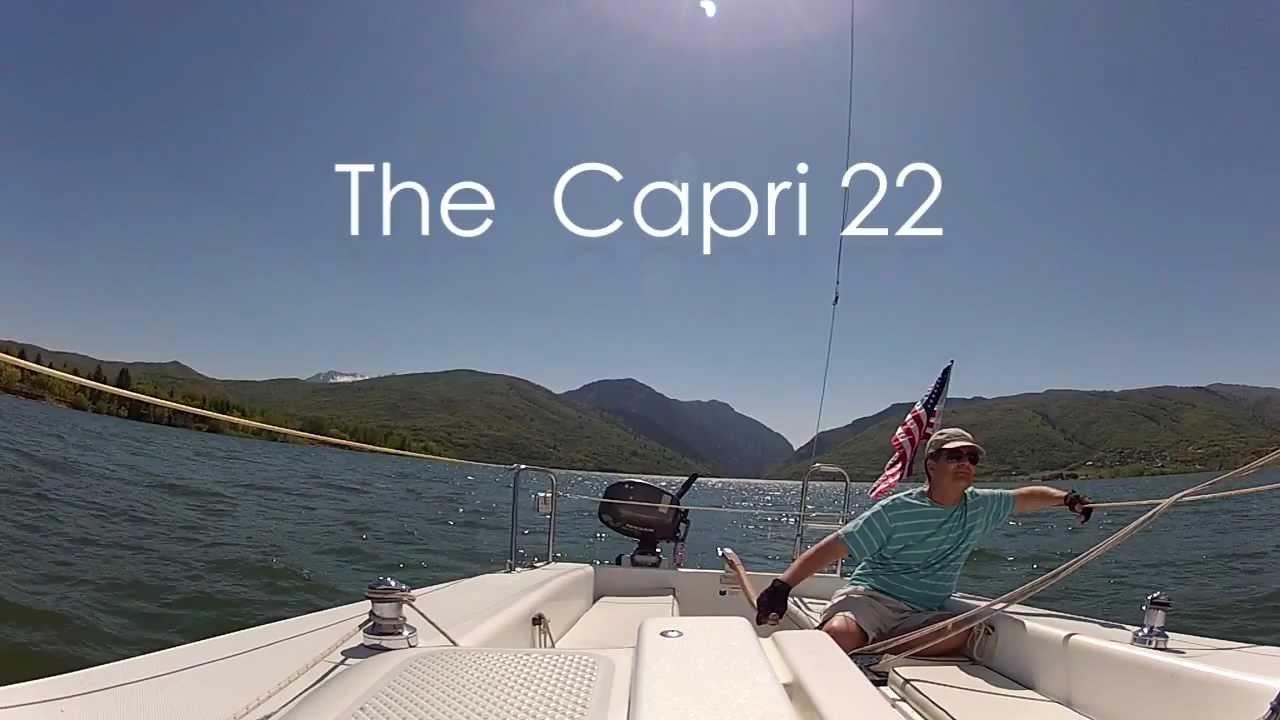 Capri 22 Sailboat Review