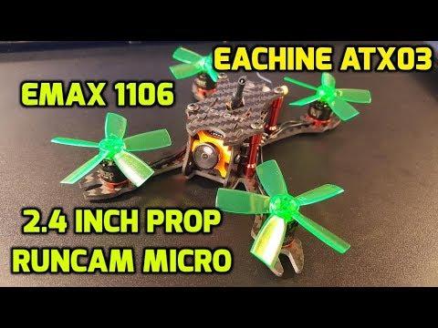 How to build a micro fpv drone 2017 // Strider Micro, Emax 1106,  Eachine Mini Cube