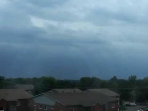 Severe thunderstorm in Montreal - September 5th, 2014