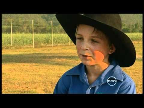 Rodeo Star Ethan Francis Junior Cowboy in Queensland