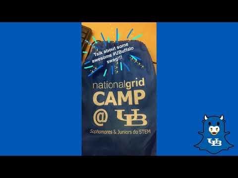 UB/National Grid Leadership Camp 2017 - Snapchat Recap