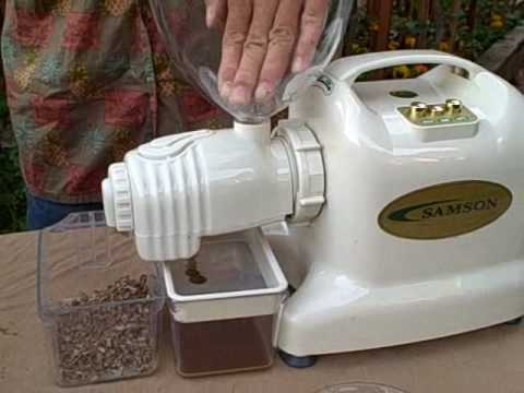 Electric Samson Juicer With Oil Press Extractor Attachment