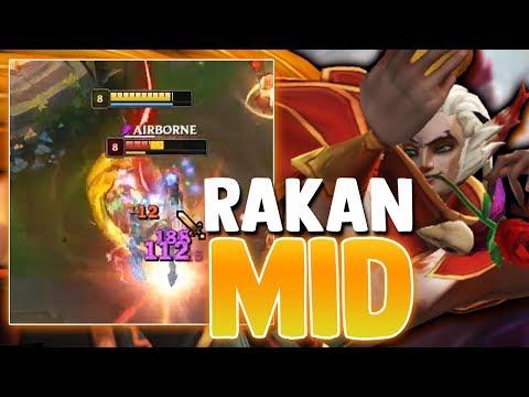 El PICK SECRETO de G2 PERKZ!! RAKAN FULL AP en MID??   Rakan - Miniduke