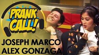 Prank Call: Alex Gonzaga & Joseph Marco nag-prank call sa MOR 101.9!