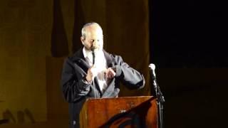 הטקס בכנס 20 שנה למכינה - הושע פרידמן