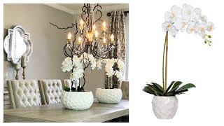 NEW! DIY Artificial Orchid Centerpiece