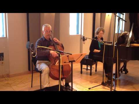 The Fischer Duo plays music by Ellsworth Millburn