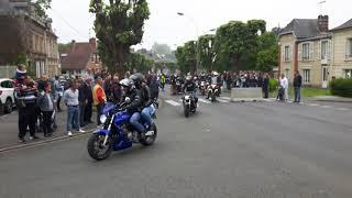 Les vidéos d'Alain, Noyon fête de la moto