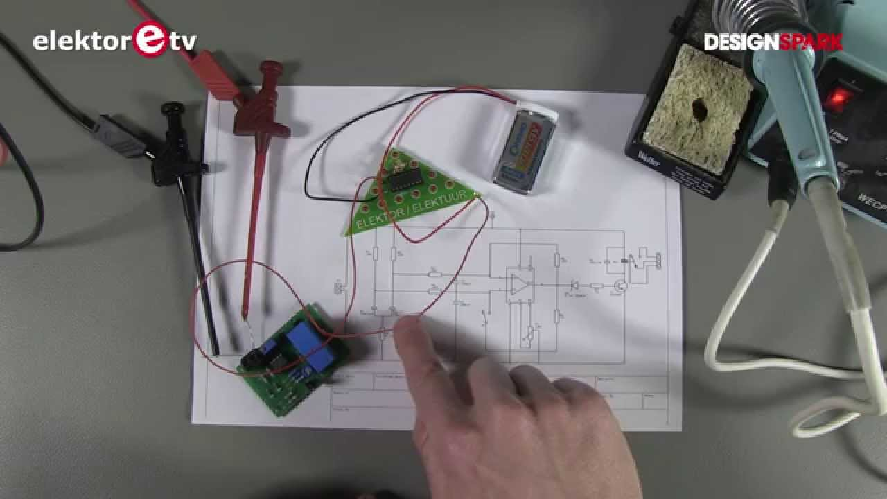 Thermal Switch With 2 Diodes Youtube Audible Light Sensor By Ic 741
