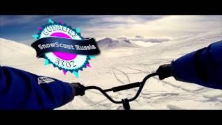 Gudauri SnowScoot Trip 2015 vol.1