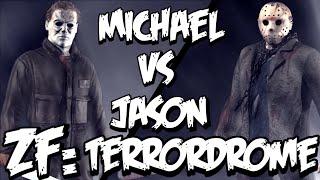 Zonic Fails: Terrordrome! - Michael Myers Vs Jason Voorhees!